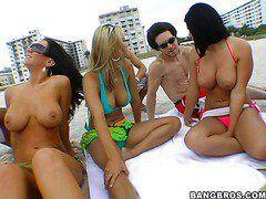 Смотреть порно жена на пляже